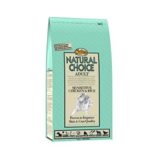Croquette chien Natural Choice adulte sensible poulet NUTRO 2 kg
