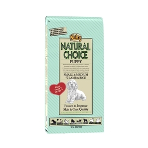 Croquette chien Natural Choice junior mini agneau NUTRO 12 kg