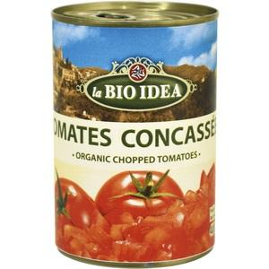 Tomates concassées Bio Idea 400 g LA BIO IDEA 121059