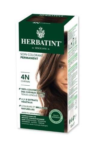 Coloration Herbatint Châtain - 4N - 145 ml 122836