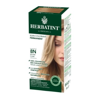 Coloration Herbatint Blond Clair - 8N.145 ml 122840