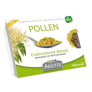 Pollen de châtaignier et de ronce bio en barquette de 250 g 125149