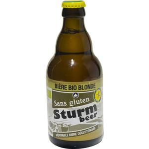 Bière blonde sans gluten STURMBIO 127166