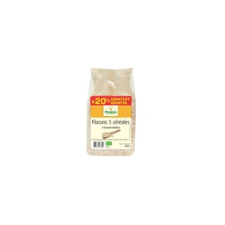 Flocons 5 céréales 500 g + 100 g PRIMEAL