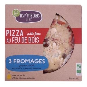 Pizza 3 fromages - 400 g 127662