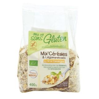 Mix céréales & légumineuses au Riz de Camargue 400 g MA VIE SANS GLUTEN
