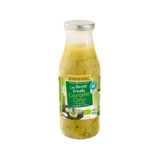 Soupe froide Courgette-citron DANIVAL
