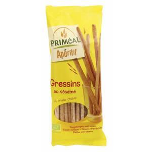 Gressins au sésame 120 g PRIMEAL