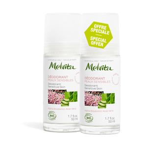 Déodorant Peaux Sensibles Melvita 50 ml