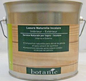 Lasure naturelle incolore Botanic 3 litres