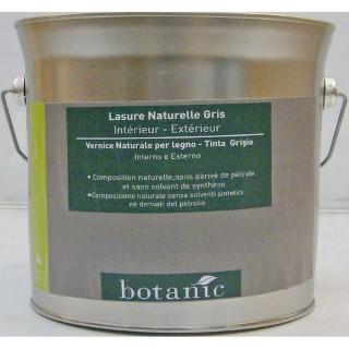 Lasure naturelle grise Botanic 3 litres