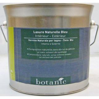 Lasure naturelle bleue Botanic 3 litres