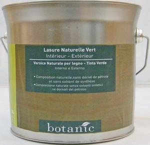 Lasure naturelle verte Botanic 3 litres