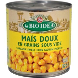 Mais doux en  grain Bio Idea 326 g LA BIO IDEA