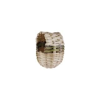 Nid pagode en osier pour oiseaux 10 cm