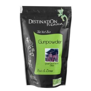Thé vert nature gunpowder Destination 250 g