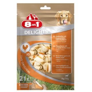 Friandises pour chien Delights 8in1 XS 21 pièces 150672
