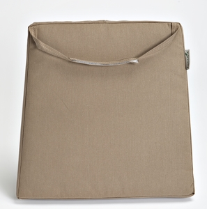 Coussin assise trapèze taupe