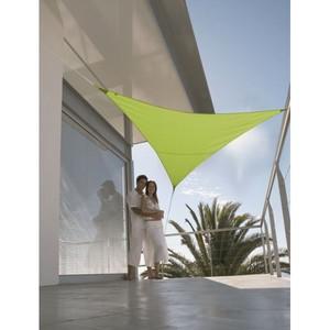 Voile ombrage vert 3,6m triangulaire Serenity