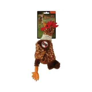 Jouet 34cm poule peluche Skinneeez pour chien 153753