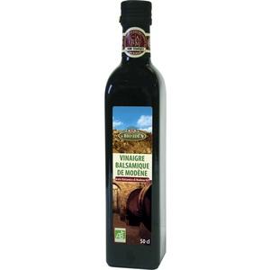 Vinaigre balsamique bio de Modène  50 cl
