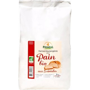 Pain bio 5 céréales 1 kg 1 kg PRIMEAL