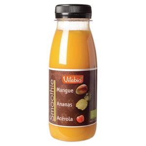 Smoothie bio Mangue Ananas Acérola 25 cl VITABIO