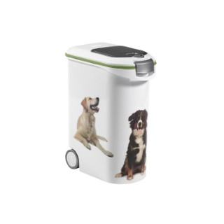 Conteneur pour chien blanc Curver 54 L