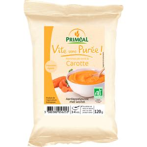 Purée pommes de terre et carotte 120 g PRIMEAL