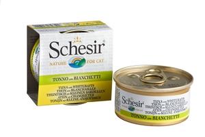 Boîte pour chat Schesir Thon Blanchailles + bouillon 70 g