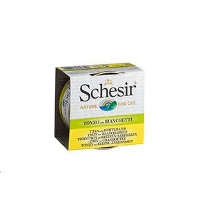 Boîte pour chat Schesir Thon Blanchailles + bouillon 70 g 159200