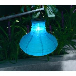 Lampion solaire bleu
