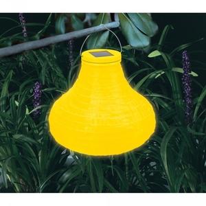 Lampion solaire jaune
