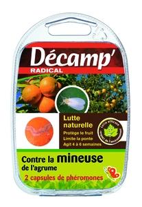 Phéromone traitement biologique de la mineuse de l'agrume x 2