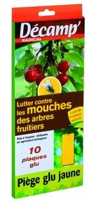 Piège à glu contre les mouches dess arbres fruitiers x 10