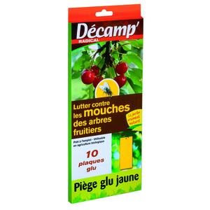 Pi ge glu contre les mouches dess arbres fruitiers x 10 botanic - Produit naturel contre les mouches ...