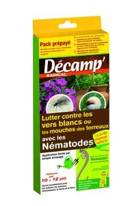 Nématodes traitement biologique contre les vers blancs et mouches