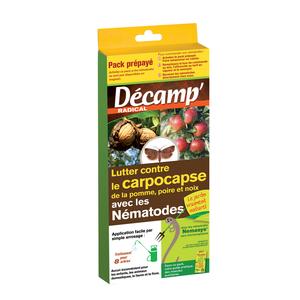Nématodes traitement biologique contre la carpocapse