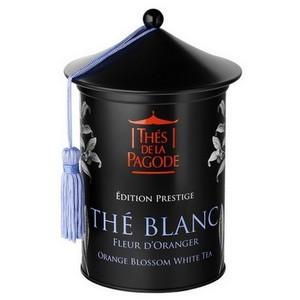 Edition Prestige Thé Blanc Fleur D'oranger Bio 100 g THE DE LA PAGODE