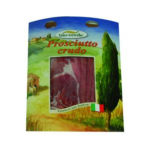 Jambon cru tranché d'Italie