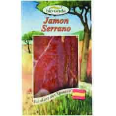 Jambon serrano en tranche