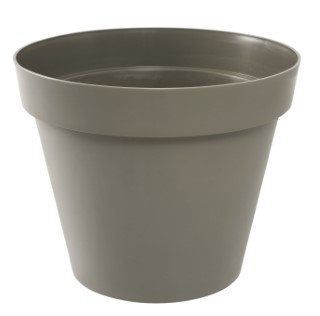 Pot TOSCANE Taupe Ø.30 x H26 cm