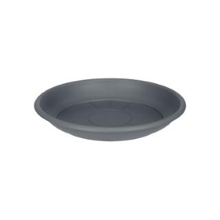 Soucoupe ronde 14 cm anthracite ELHO 165324