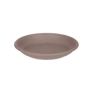 Soucoupe ronde 24 cm taupe ELHO 165341