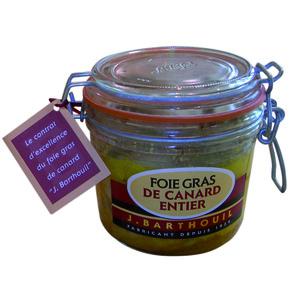 Foie gras de canard entier BARTHOUIL