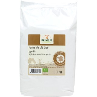 Farine T80 1 kg PRIMEAL