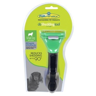 Brosse Furminator S chien poils longs