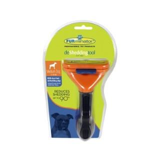 Brosse Furminator M chien poils courts