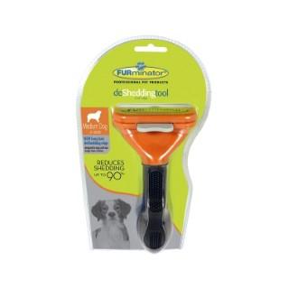 Brosse Furminator M chien poils longs