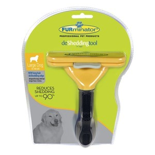 Brosse Furminator L chien poils longs